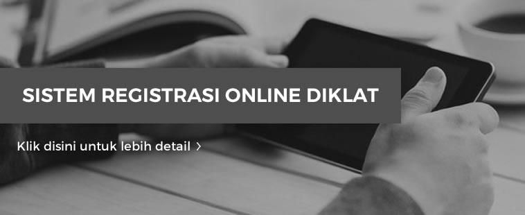 Sistem Registrasi Diklat Online
