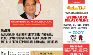 JOIN NOW - WEBINAR 12 KELAS ONLINE - 25 JUNI 2020