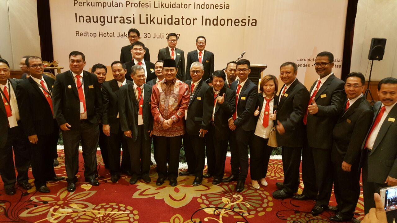 Inaugurasi Likuidator Indonesia oleh Perkumpulan Profesi Likuidator Indonesia (PPLI), 30 Juli 2017