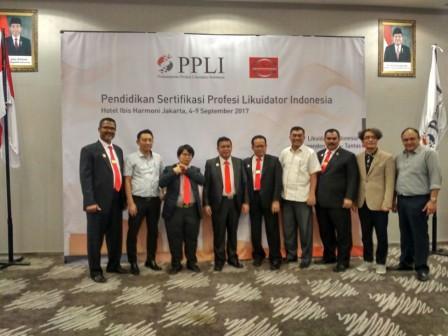 PENDIDIKAN SERTIFIKASI LIKUIDATOR INDONESIA (04 - 09 SEPTEMBER 2017)